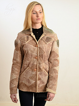 Higgs Leathers ONE ONLY UNDER HALF PRICE!  Peyton (fitted Sheepskin jacket)